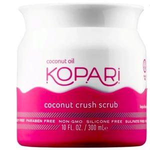 Kopari coconut crush scrub coconut oil 10 fl.oz